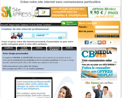 Cr�ation de site internet professionnel : Site Xpress
